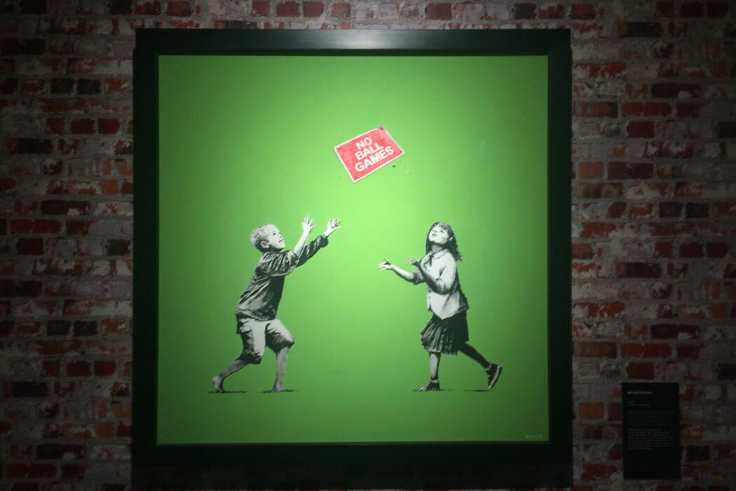 Banksy 'No ball games'