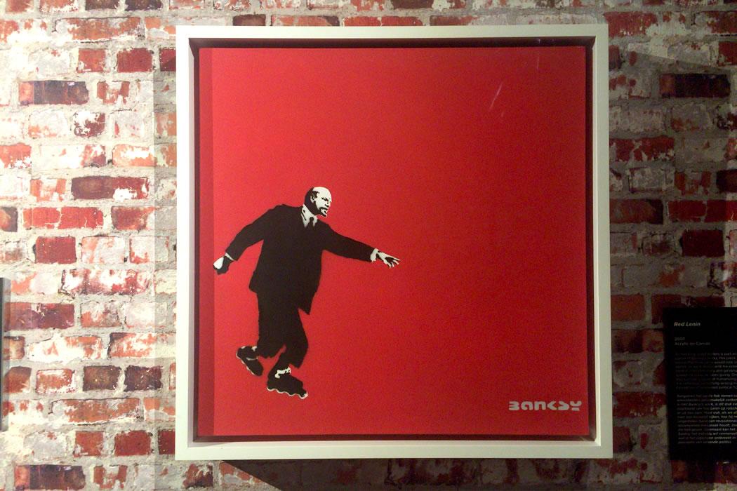 banksy-red-lenin-1