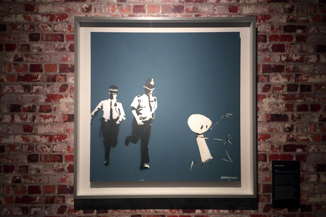 【続】Banksy(バンクシー)、キャンバス作品の飾り方の参考にしてください