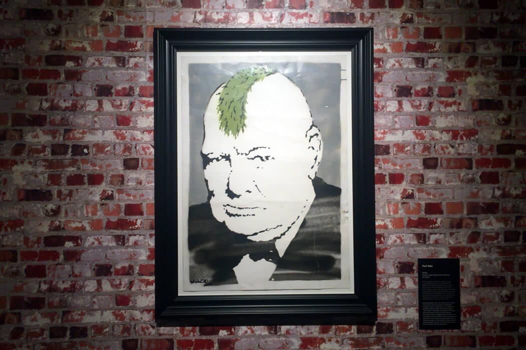 Banksy 'Turf War'