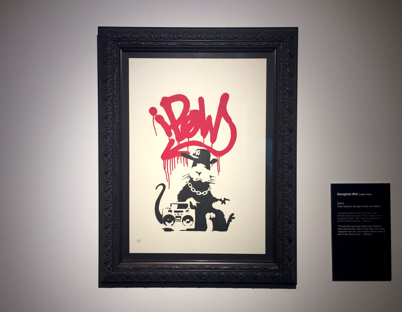 Gangsta Rat - Banksy