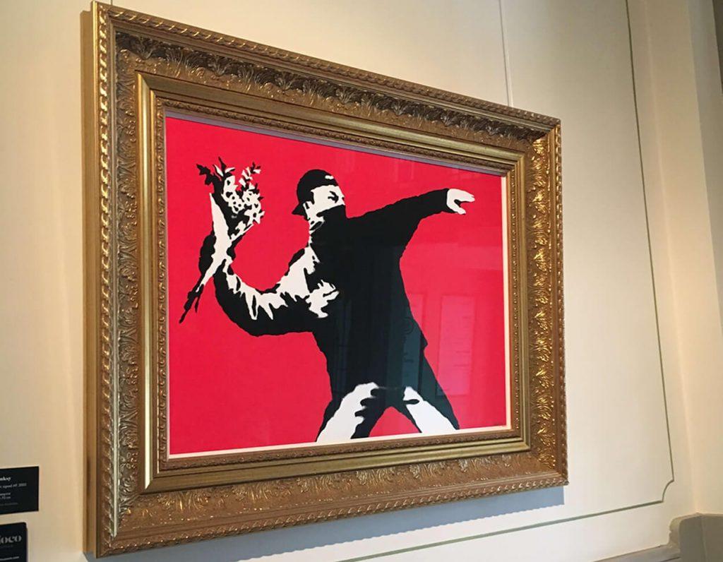 Banksy アメリカ初!ソロ・エキシビション「Existencilism」2002