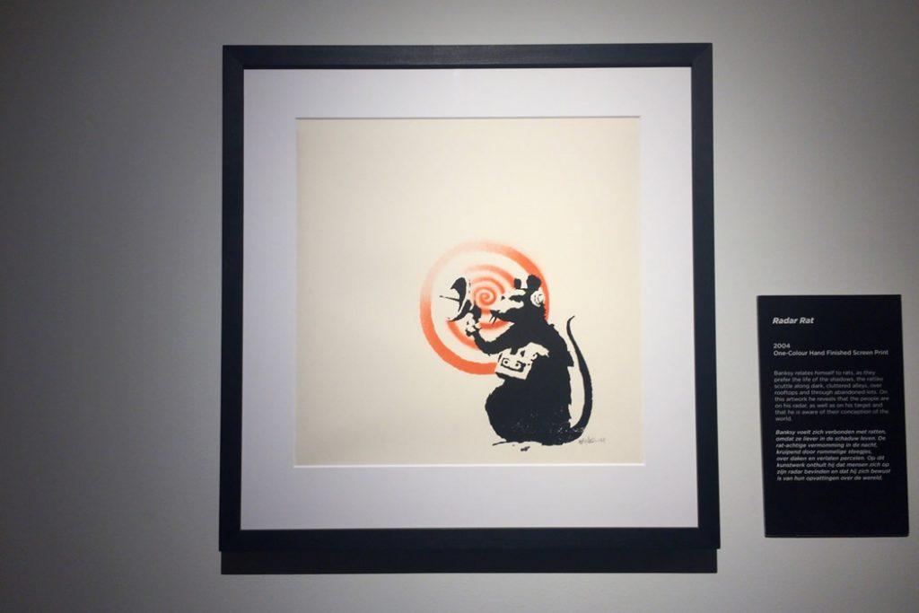 Banksy(バンクシー) -Rader Rat