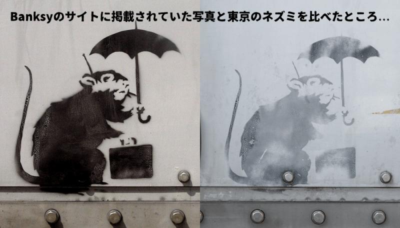 東京に現れたバンクシーのネズミは本物か? 独自に検証してみた